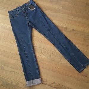 NWT Asos Jeans with Cool Detail Down Leg